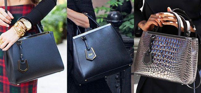 Темні сумки Фенди 2jour