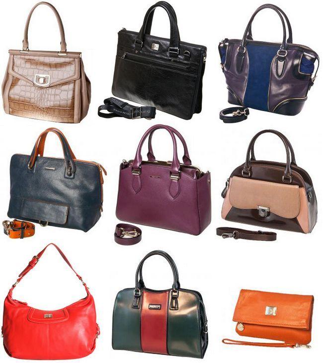 сумки Francesco Markoni різноманітність видів сумок