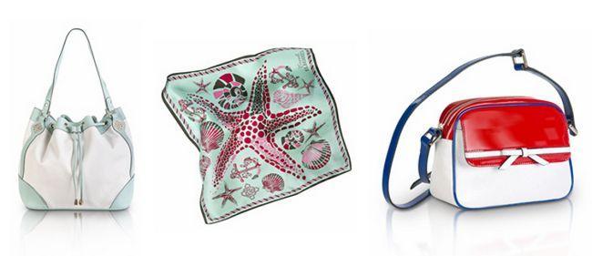 Оригінальні сумки Елеганза колекції - морська