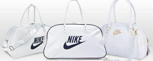 жіночі сумки Найк білі