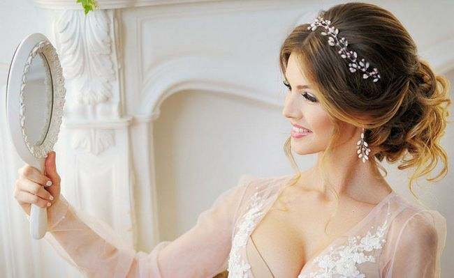Весільні зачіски: стиль, перевага, досконалість