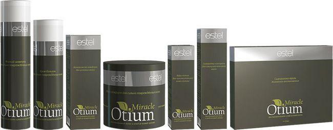 набір косметики Естель для догляду за волоссям otium miracle