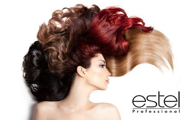 фарба для волосся палітра кольорів estel professional