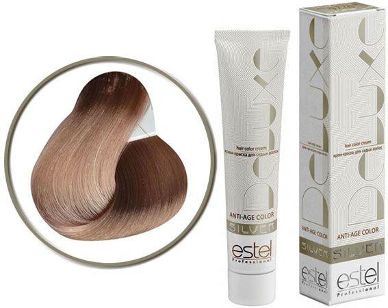 фарба для сивого волосся estel silver anti age