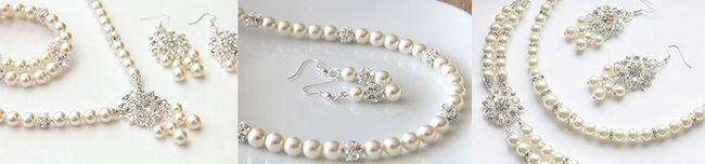 прикраси з перлів для жінок