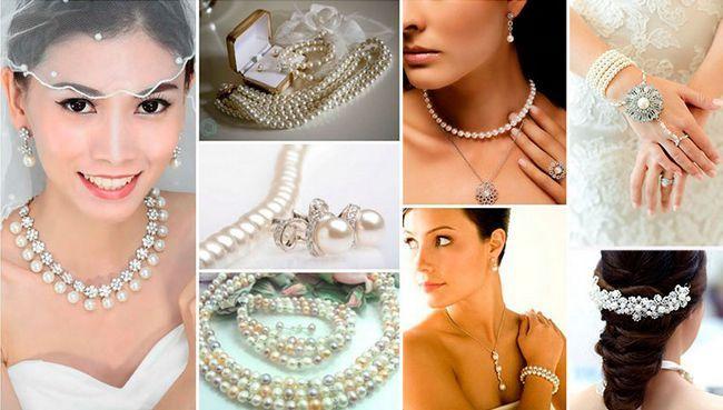 ювелірні прикраси з перлів