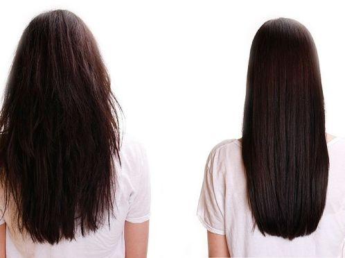 бразильське випрямлення волосся