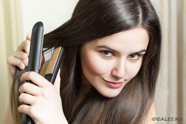 випрямлення волосся в домашніх умовах надовго