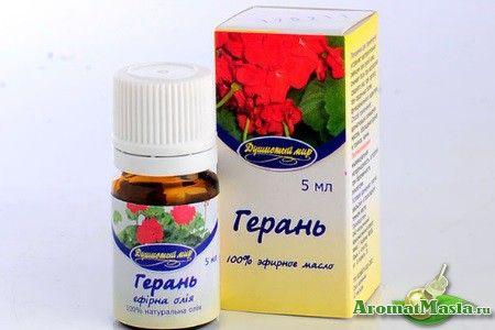 Чудові лікувальні властивості ефірного масла герані