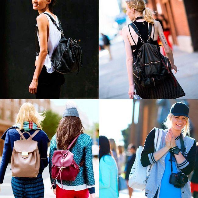 фото жіночих рюкзаків