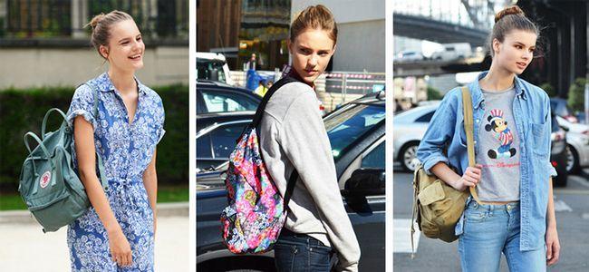 повсякденні жіночі рюкзаки