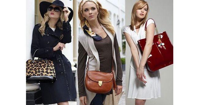як носити жіночі сумки через плече