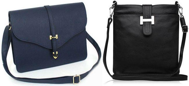 жіночі сумки через плече зі шкіри