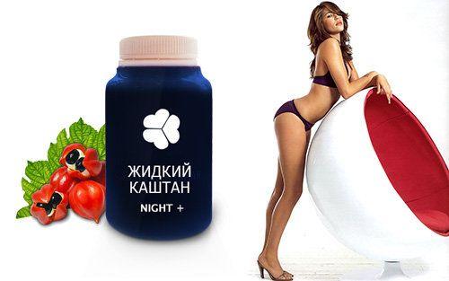 Рідкий каштан night: худнемо без дієт і тренувань