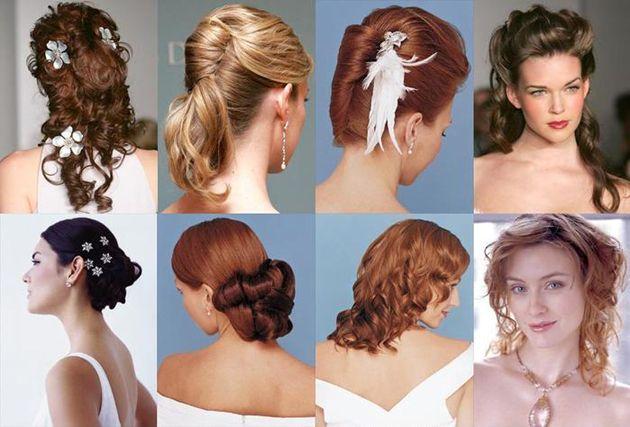 Живі квіти у весільну зачіску